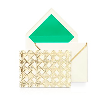 Kate spade new york notecard set