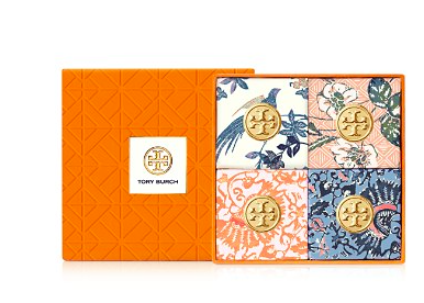Tory burch bath soaps