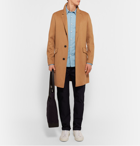 Mr. Porter, Theory Whyte SLim-Fit Brushed-Cashmere Coat