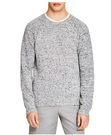 The Men's Store at Bloomingdale's Marled Crewneck Sweater