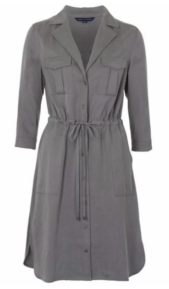 2 Khaki Shirt Dress