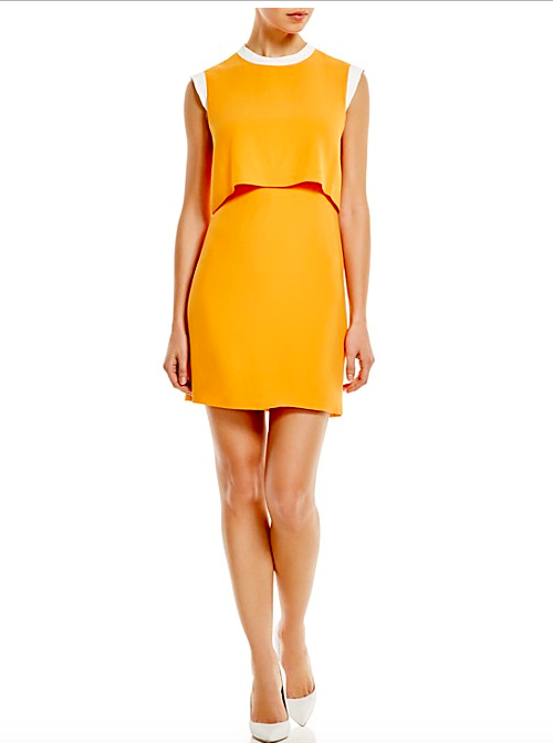 2 Sandro, Rupert Color Block Dress