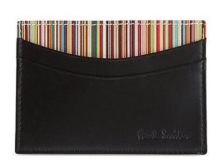 Multi-Stripe Card Holder