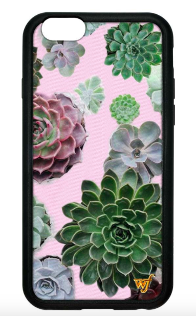 10 Wildflowers Cases Succulent iPhone Case