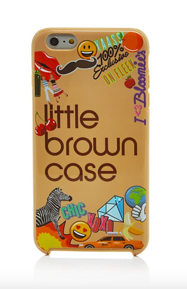 7 Bloomingdale's Emoji Little Brown iPhone 6 Plus Case