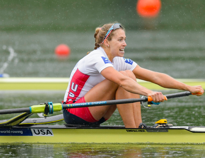 Gevvie Stone (Photo provided by USRowing)