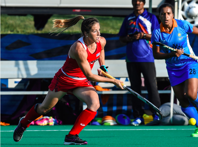 Julia Reinprecht (Photo by Mark Palczewski, Courtesy of USA Field Hockey)
