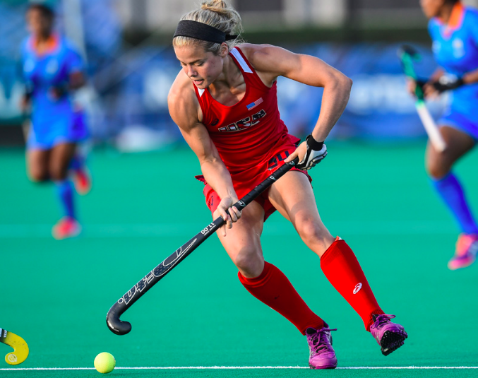 Kat Sharkey (Photo by Mark Palczewski, Courtesy of USA Field Hockey)