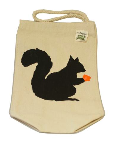 Squirrel Lunch Tote