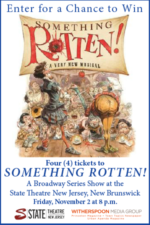 "Win four tickets to ""Something Rotten!"" at the State Theatre New Jersey!"